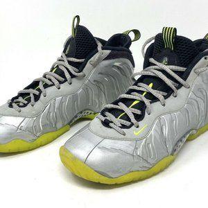 Nike Little Posite One GS Metallic Silver Volt 644